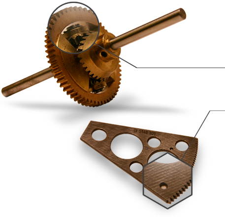 Ljungmann AS produserer små og mellomstore serier komponenter med høy vanskelighetsgrad og med store krav til nøyaktighet og finish så vel som dokumentasjon.